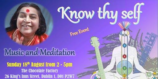 Sahaja Yoga - Music and meditation - Dublin