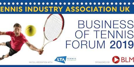 Business Tennis Forum 2019 tickets