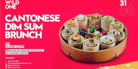 W1LD ONE - Cantonese Dim Sum Brunch at YEN tickets
