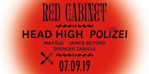 Red Cabinet w/ Head High & Polizei live in concert