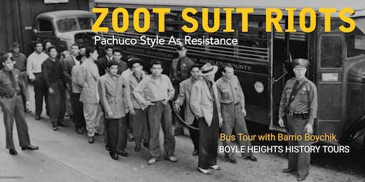 """""""Zoot Suit Riots"""" Bus Tour (October)"""