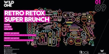 W1LD ONE - Retro RETOX Superbrunch tickets