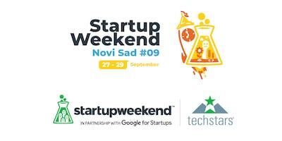 Techstars Startup Weekend Novi Sad 09/19
