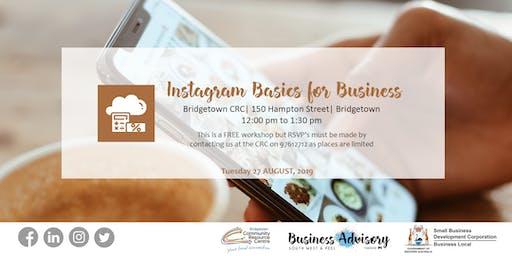 Instagram Basics for Business   Bridgetown