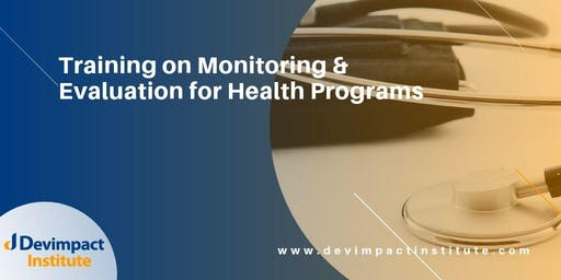 Training on Monitoring and Evaluation for Health Programs