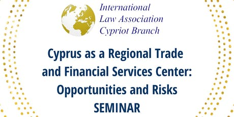 International Trade and Cyprus as a Financial Services Center tickets