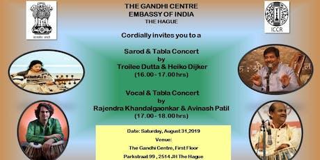 Sarod & Vocal Concert tickets