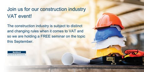 VAT Seminar for the Construction Industry tickets