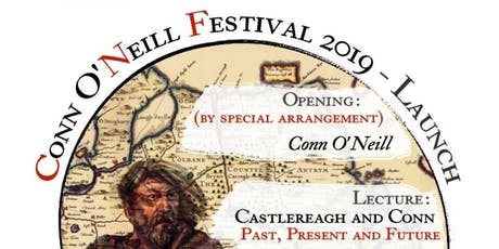 Conn O'Neill Festival 2019- Launch tickets