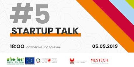 Startup Talk #5  biglietti