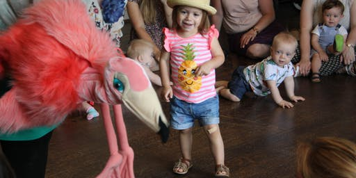 Little Flamingos: Crafty makers