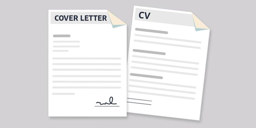 Build A Cv And Write A Cover Letter Registration Multiple