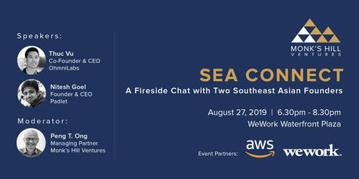 [SEA Connect] A Fireside Chat with Two Southeast Asian Founders