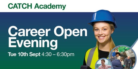 CATCH Career Open Event - September tickets