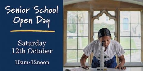 Royal High School Bath Senior Open Day tickets