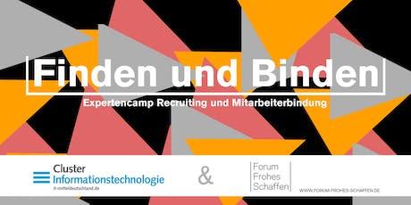 """Expertencamp """"Finden und Binden"""" Tickets"""