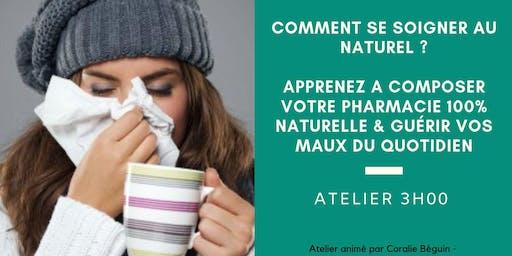 ATELIER 3H - COMPOSER SA PROPRE PHARMACIE AU NATUREL & GUÉRIR SES MAUX