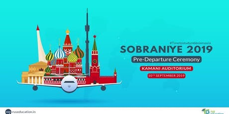 Join Sobraniye 2019 - The Pre-Departure Ceremony! tickets