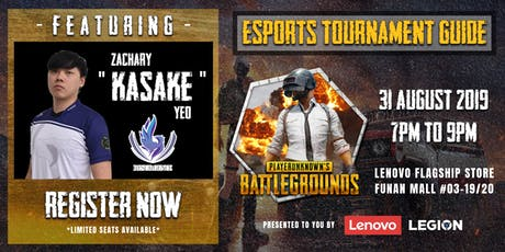 PUBG Esports Tournament Guide by Resurgence tickets