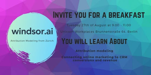 Attribution and marketing automation breakfast