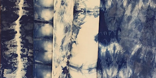 Indigo Shibori Dyeing Workshop with Helena