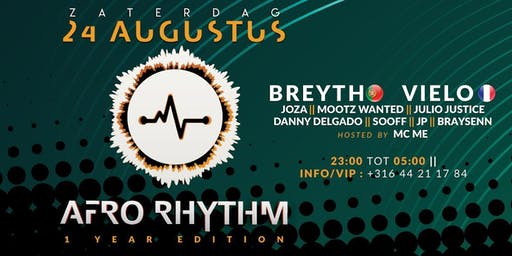 Afro Rhythm: 1 year anniversary
