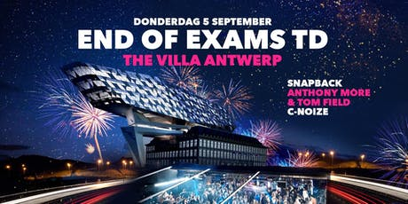 END of EXAMS TD ∙ 05/09 ∙ The Villa tickets