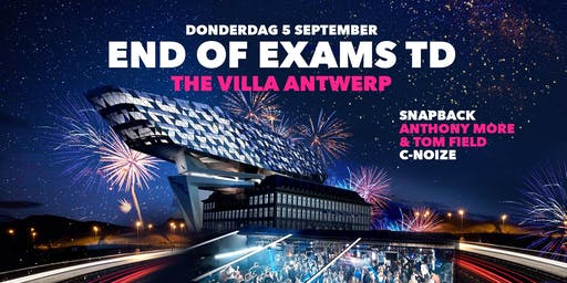 END of EXAMS TD ∙ 05/09 ∙ The Villa