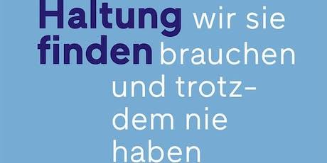 Salon Luitpold: Haltung finden Tickets