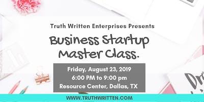 Business Startup Master Class