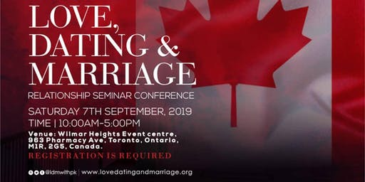 Love, Dating and Marriage Conference Canada