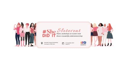 Slotevent #SheDIDIT