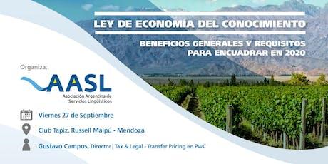 Ley de economía del conocimiento -  Evento exclusivo para miembros de AASL entradas