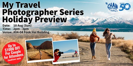 My Travel Photographer Series Holiday Preview