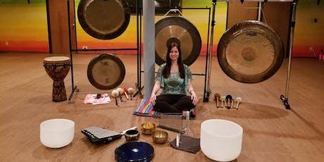 Gong + Bowl Meditation - Sacred Sound Journey tickets