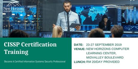 Certified Information Systems Security Professional (CISSP) tickets