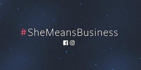 She Means Business: Training workshop in Birmingham Tech Week tickets