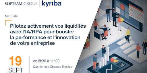 Pilotez activement vos liquidités avec l'IA/RPA pour booster la performance et l'innovation de votre entreprise