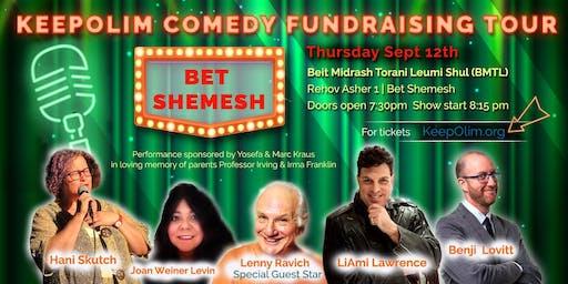KeepOlim Comedy Fundraising Tour @ Bet Shemesh