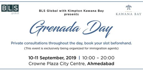 Grenada day with Kimpton Kawana Bay (@ Ahmedabad - for immigration agents only) tickets