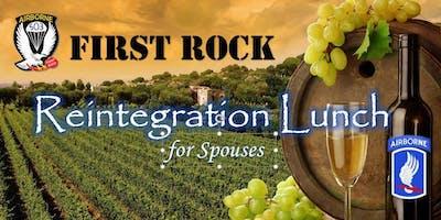 First Rock Reintegration Lunch
