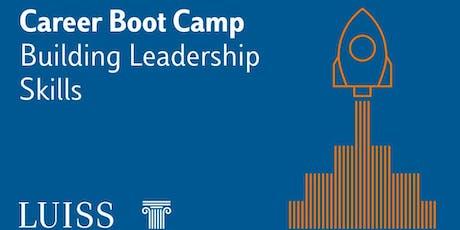 Luiss Career Boot Camp - IV edizione biglietti