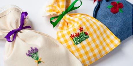 Flower Garden Embroidery Workshop tickets