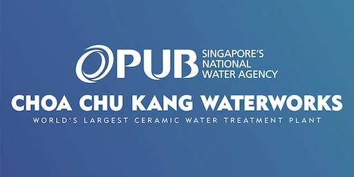 Choa Chu Kang Waterworks Upgrading Completion Ceremony