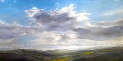 The Useful Art Class - How to Paint Clouds with Oils Workshop