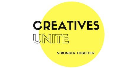 Creatives Unite Meet Up - October 3rd 2019 tickets