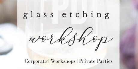 Happy Hour + Glass Etching   L'Auberge tickets