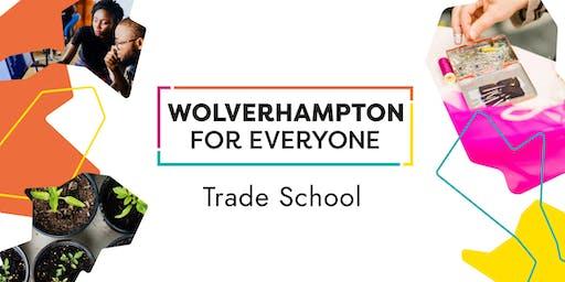 Fun with sign language: Trade School Wolverhampton