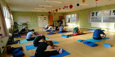 Yoga for Beginners Wednesday 18th September 2019