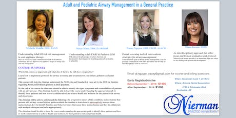 Adult and Pediatric Airway Management in a General Practice tickets